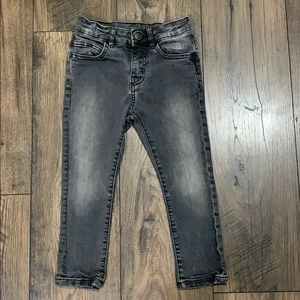 Zara Boys Light Black Jeans